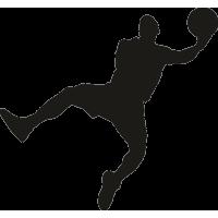 Баскетболист ловит мяч