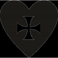 Крест в сердце