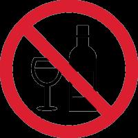 Знак Алкоголь Запрещен 1