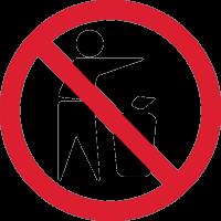 Не выбрасывать Мусор Мимо 1