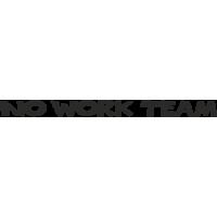 Надпись No Work Team