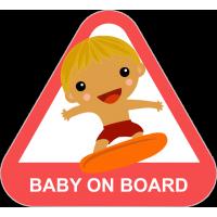 Baby on board - ребенок на сёрфе