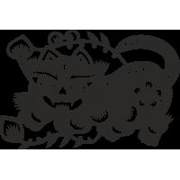 Знак китайского зодиака Тигр