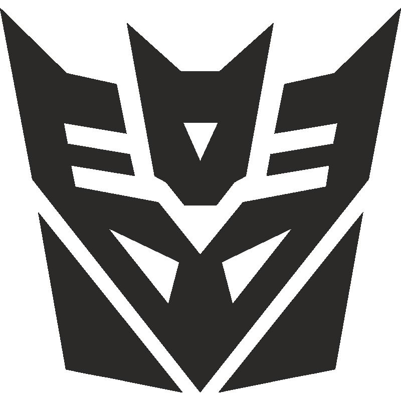 Tranformers  Decepticon Symbol Stencil  Free Stencil Gallery