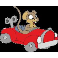 Мышь в автомобиле