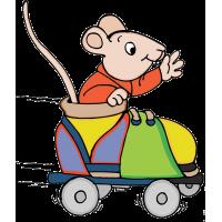 Мышь в ролике