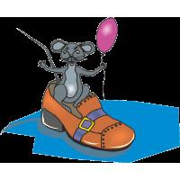 Мышь в туфле