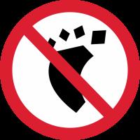 Знак не Наступать 1