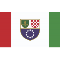 Флаг Федерации Боснии и Герцеговины