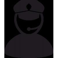 Полицейский с Микрофоном