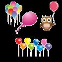 Воздушные шары, персонажи с воздушными шарами