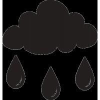Туча и дождь