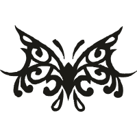 Татуировка Бабочка