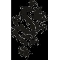 Татуировка Дракон 6