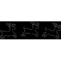 Бегущие олени