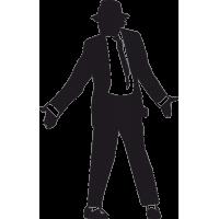 Майкл Джексон в шляпе