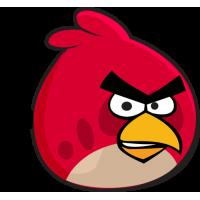 Красная птица из Angry Birds