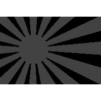 Стилизованный флаг Японии