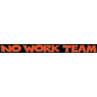 No Work Team оранжевая
