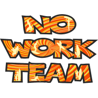 No Work Team для светлого фона