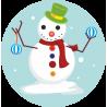 Снеговик 4