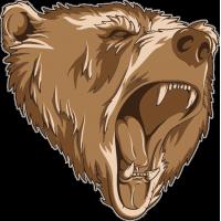 Рычащий медведь