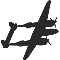 Истребитель P-38j Lighting
