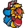 Попугай - хоккеист