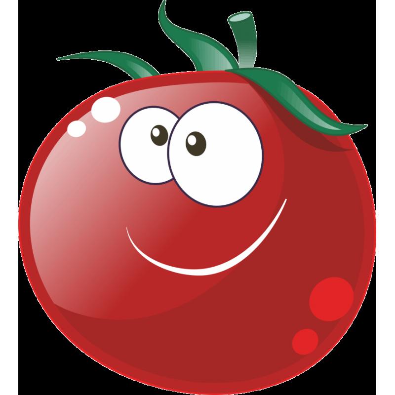 Рисунок смешного помидора, открытку февраля