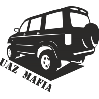 Uaz Patriot Mafia - УАЗ Патриот мафия