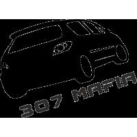 Pegeot 307 Mafia - Пежо 307 Мафия