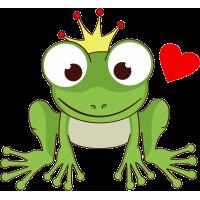 Лягушка с короной