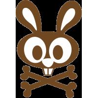Кролик с костями