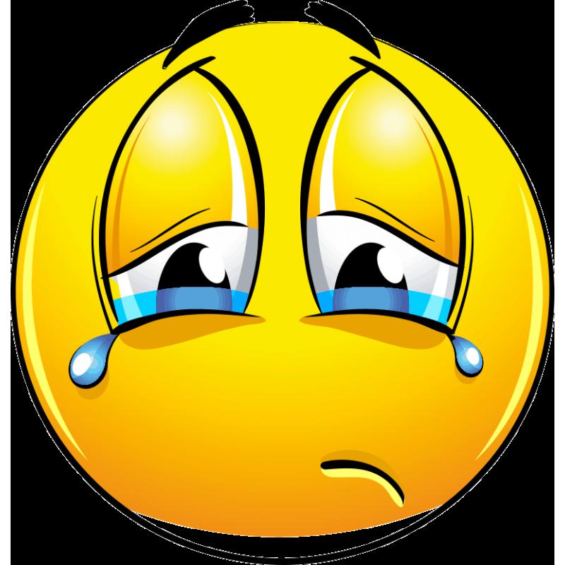 Открытки грустных смайликов