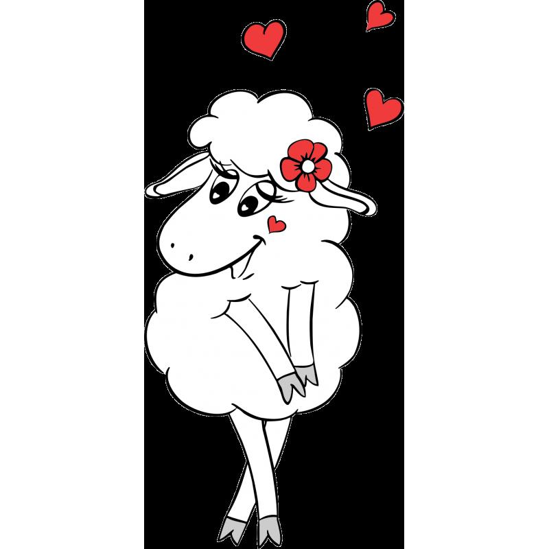 Люблю тебя, прикольные картинки овечки