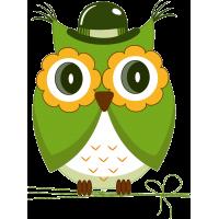 Зеленая сова