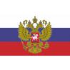 Флаг России с гербом