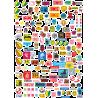 Стикерпак - набор наклеек JDM N1