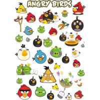 Стикерпак - набор наклеек Angry Birds