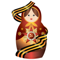 Матрёшка Праздничная