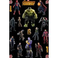 Стикерпак новые Мстители: Война Бесконечности (Avengers: Infinity War)