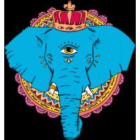 Индийский Одноглазый Слон