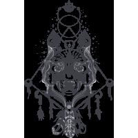 Волк Эзотерический Космический Хипстер