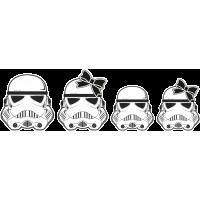 Семья штурмовиков из Звездных войн