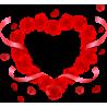 Сердце Из Роз Ко Дню Святого Валентина 14 Февраля